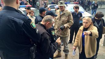 Потасовки с радикалами во Львове