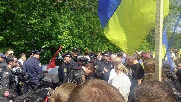 Стрельба в Харькове по байкерам