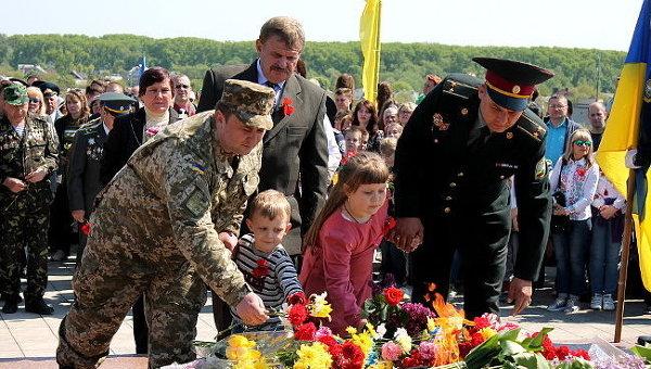 День Победы в Чернигове