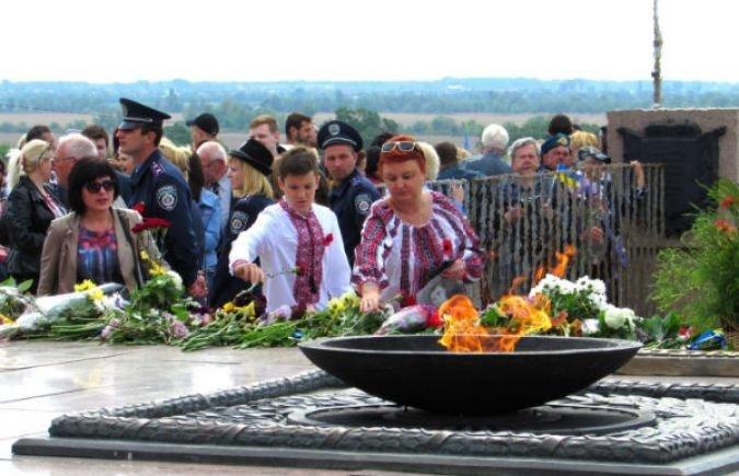 В Херсоне отмечают День Победы