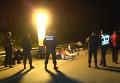 Задержание провокаторов с оружием под Уманью: кадры с места событий
