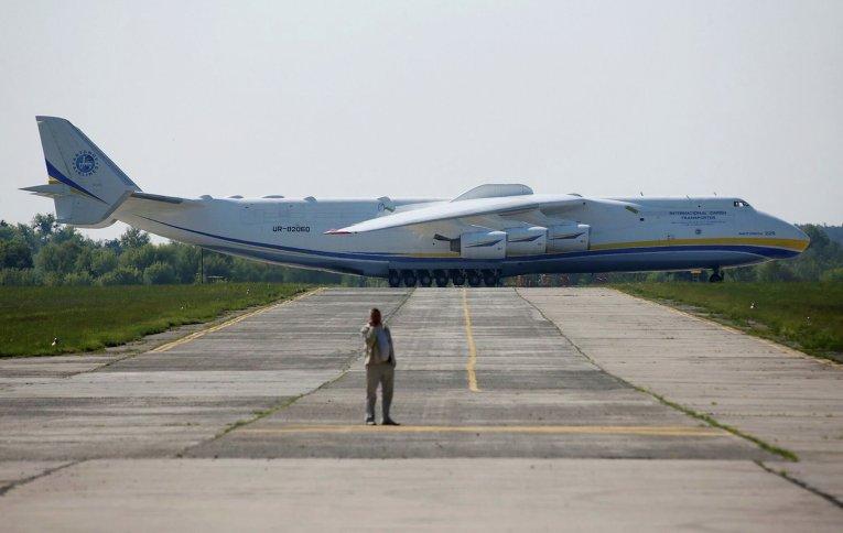 ан 225 фото с другими самолетами