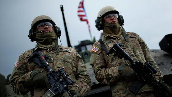 Старт американо-грузинских военных учений