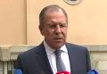 Нормандская встреча по Донбассу в Берлине: пресс-подход Лаврова. Видео
