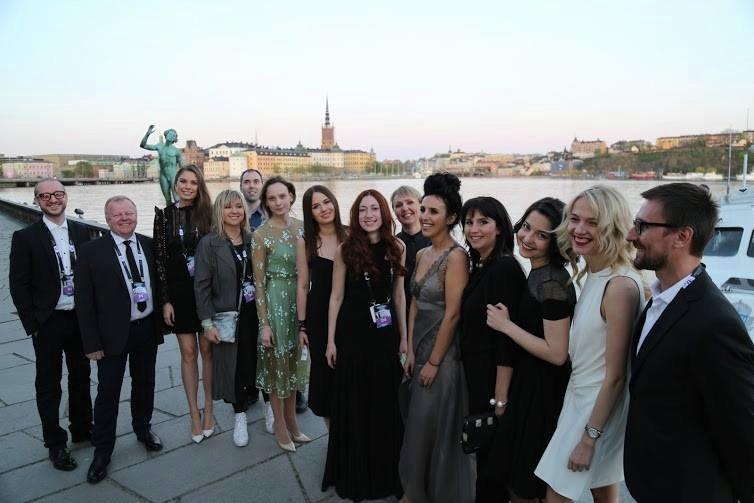 Джамала на церемонии открытия Евровидения-2016