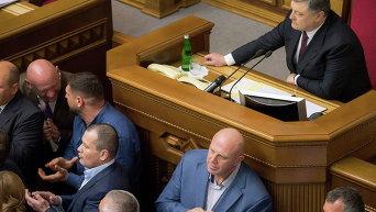 Заседание Рады по назначению Луценко генпрокурором. Архивное фото