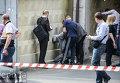 На месте стрельбы и задержаний в Киеве