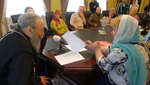 Гройсман поздравил Филарета с50-летием служения наКиевской кафедре