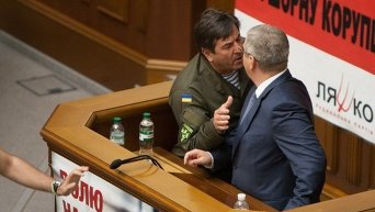 Драка дня: Вилкул и Тимошенко сцепились из-за русского языка
