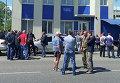 Трассу Одесса-Киев заблокировали фурами