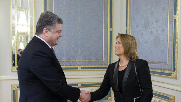 Петр Порошенко принял заместителя Генерального секретаря ООН Грете Фаремо