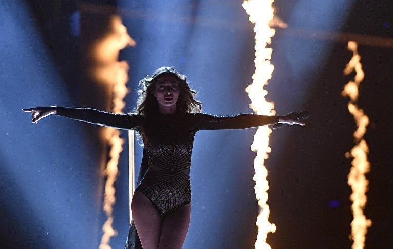 Армянская участница Ивета Мукучян признана самой красивой участницей Евровидения-2016