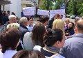 Под МВД требуют уволить полицейских, проводивших обыски в Коцюбинском поссовете