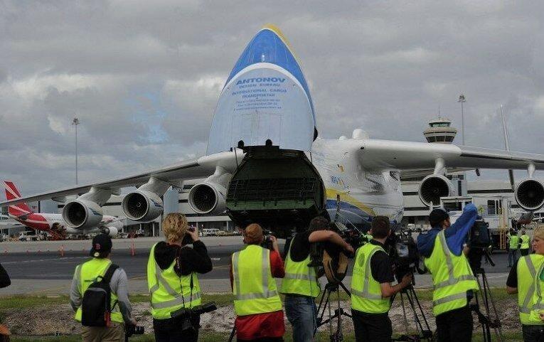 Крупнейший в мире самолет Ан-225 Мрия