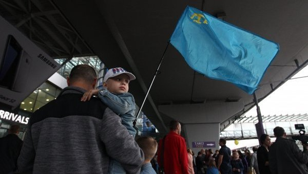 Флаг крымских татар