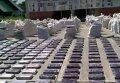 Восемь тонн кокаина стоимостью около $240 млн на границе с Панамой. Видео