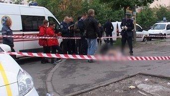 На месте жесткого убийства в Киеве