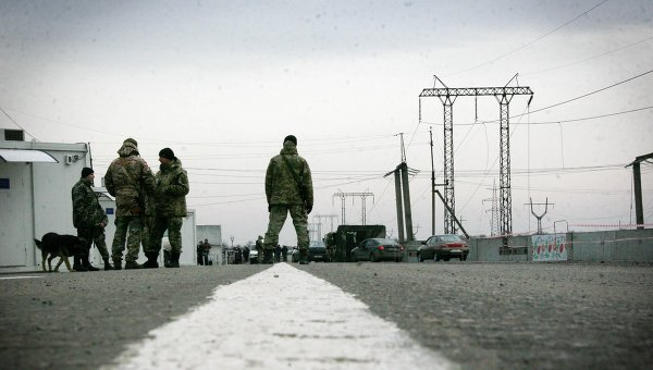 Ситуация на границе Украины и Польши. Архивное фото