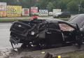 Автомобиль Геращенко врезался в столб