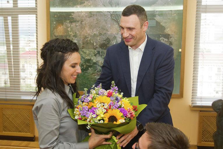 Виталий Кличко и Джамала