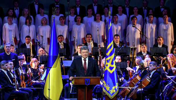 Петр Порошенко на вечере-реквиеме по случаю годовщины депортации крымских татар