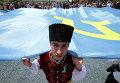 Крым, Бахчисарай, крымские татары почтили 72-ую годовщину депортации