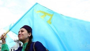 На Майдане Незалежности почтили память жертв депортации крымскотатарского народа