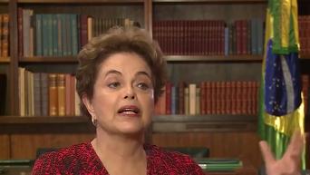 Дилма Роуссефф о попытке госпереворота в Бразилии. Видео
