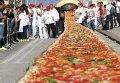 В Италии испекли самую большую в мире пиццу. Архивное фото