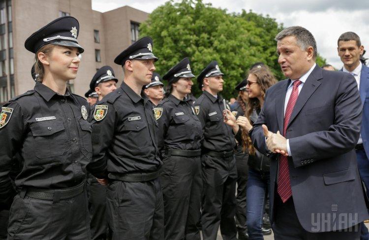 Патрульная полиция в Кривом Роге и Арсен Аваков