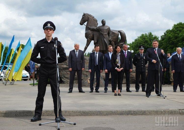 Патрульная полиция в Кривом Роге