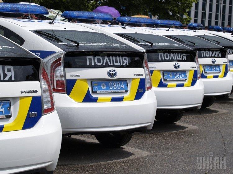 Машины патрульной полиции в Кривом Роге