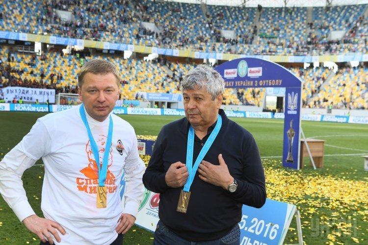 Шахтер в десятий раз стал обладателем Кубка Украини по футболу