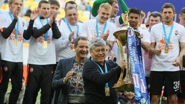 Шахтер в десятый раз стал обладателем Кубка Украины по футболу