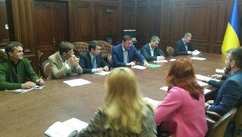 Заседание в Генеральной прокуратуре Украины