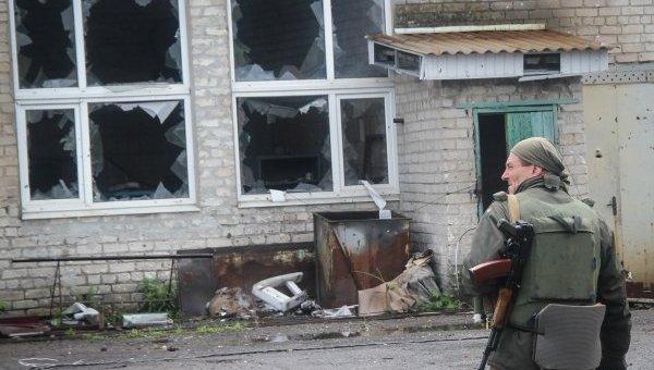 Украинские военные на окраинах Авдеевки