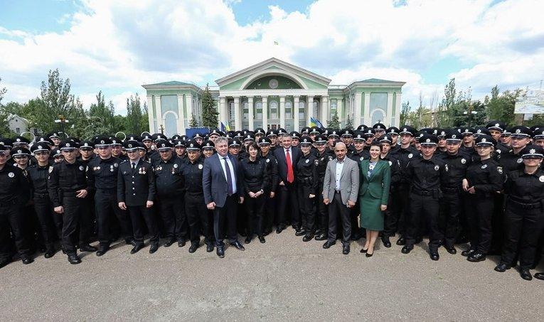 Патрульная полиция Луганской области