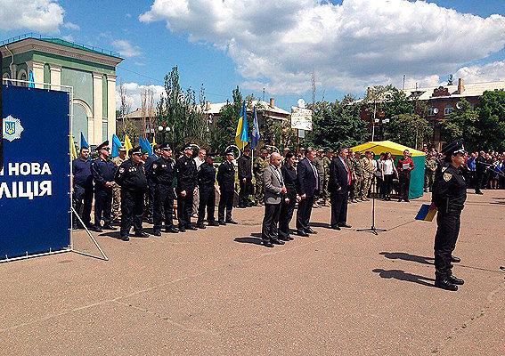 Патрульная полиция в Северодонецке