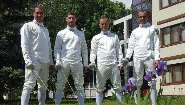Мужская сборная Украины по фехтованию