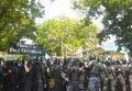 Стычки во время марша ЛГБТ-сообщества в Кишиневе