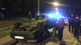 ДТП в Одессе. Неизвестные похитили виновника аварии