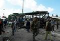 Взрыв возле автовокзала в сирийском Джабле: первые кадры