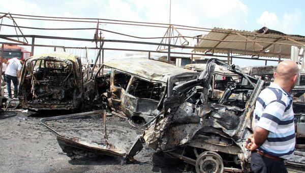Более 30 человек погибли при подрыве смертника всирийском городе Эль-Хасака