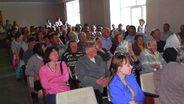 Жители села Андреевка против переименования