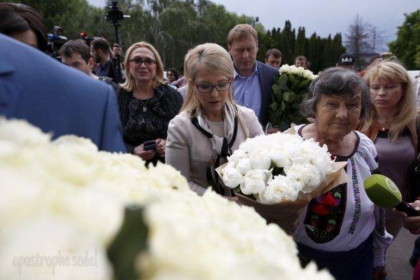 Юлия Тимошенко и мать Надежды Савченко