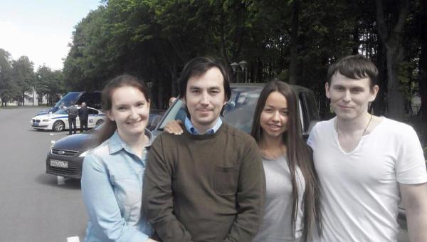 Александр Александров и Евгений Ерофеев после возвращения в РФ