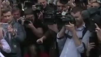 Речь Савченко в аэропорту