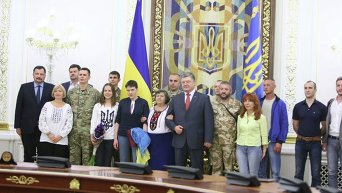 Надежда Савченко в Администрации президента
