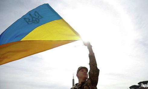 Флаг. Украины. Архивное фото
