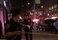 Стрельба у концертного зала в Нью-Йорке: кадры с места ЧП. Видео